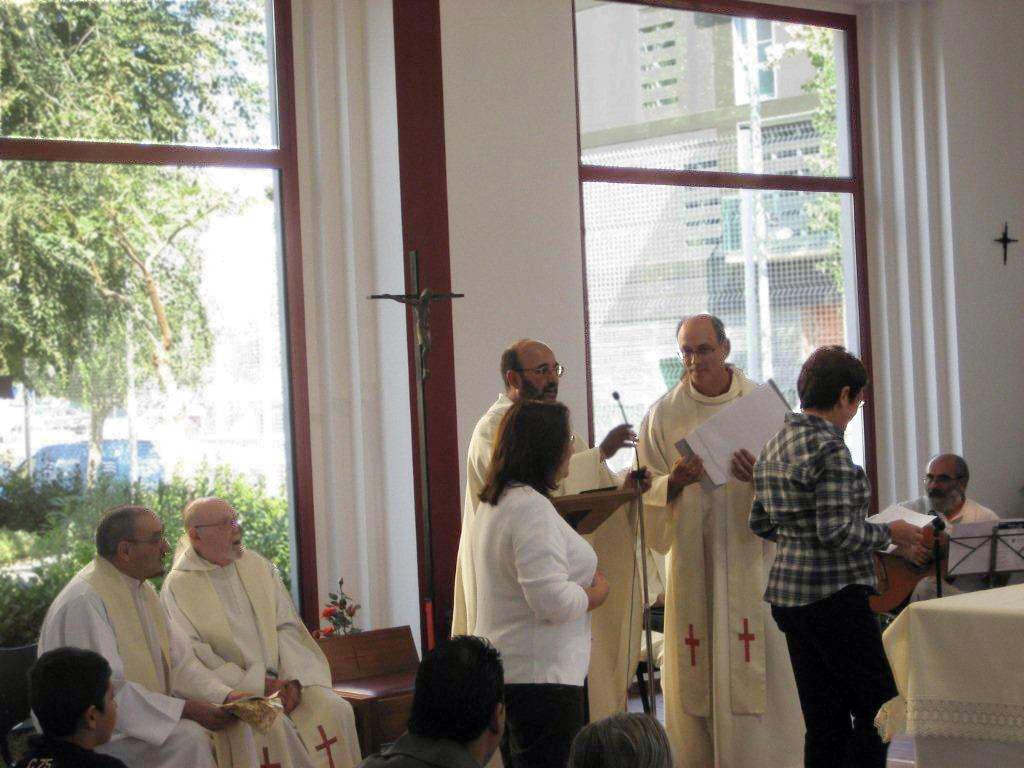 La parròquia de les Neus festeja la nova imatge de la seva patrona